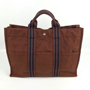 {Hermès} Fourre Tout GM Unisex Canvas Tote Bag